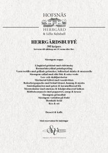 thumbnail of Herrgårdsbuffé