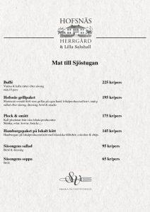 thumbnail of Mat till Sjöstugan