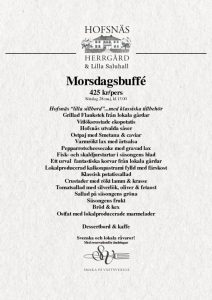 thumbnail of Morsdags buffé 2017