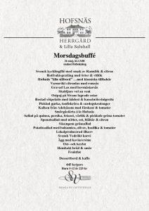 thumbnail of Morsdagsbuffé