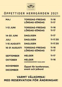 thumbnail of Hofsnäs Öppettider vår 2021 50×70